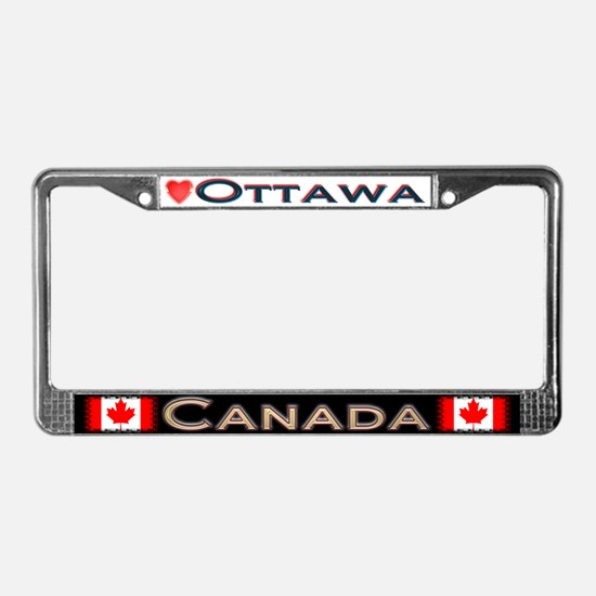 Ottawa, CANADA - License Plate Frame