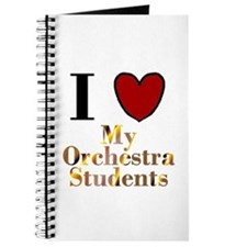 I Love My Orchestra Students Journal