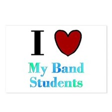 I Love My Band Students Postcards (Package of 8)