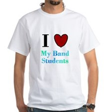 I Love My Band Students Shirt