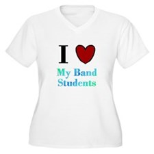 I Love My Band Students T-Shirt