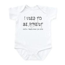 I used to be atheist Infant Bodysuit