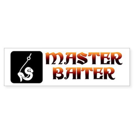 Master Baiter - Bumper Sticker