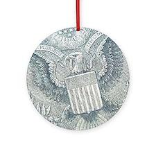Cash Ornament (Round)
