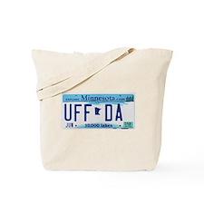 """Minnesota """"Uffda"""" Tote Bag"""