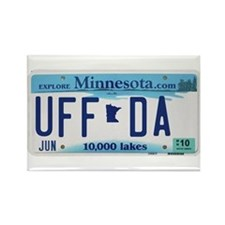 "Minnesota ""Uffda"" Rectangle Magnet"