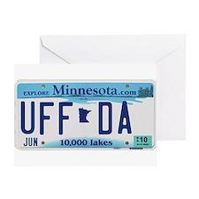 "Minnesota ""Uffda"" Greeting Card"