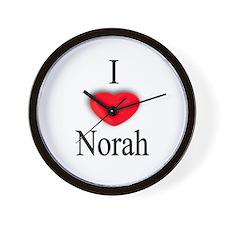 Norah Wall Clock