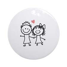 In love Ornament (Round)