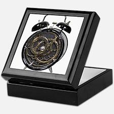 Astrolabe alarm clock Keepsake Box