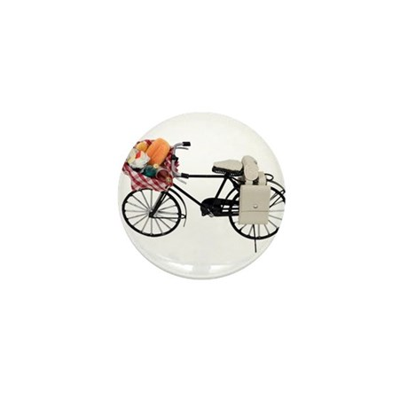 Bicycle picnic Mini Button (10 pack)