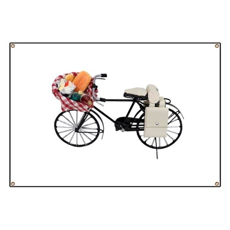 Bicycle picnic Banner