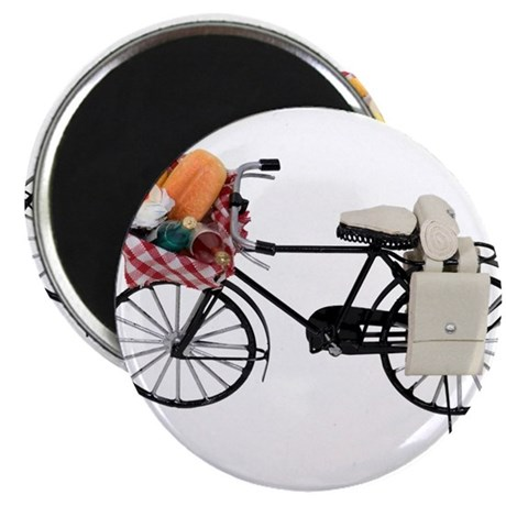 """Bicycle picnic 2.25"""" Magnet (100 pack)"""