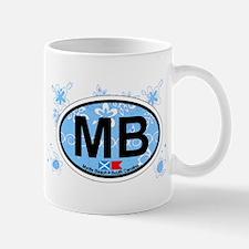 Myrtle Beach SC - Oval Design Mug