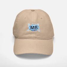 Myrtle Beach SC - Oval Design Baseball Baseball Cap