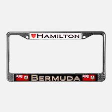 Hamilton, BERMUDA - License Plate Frame
