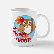 Owl 3rd Birthday Mug