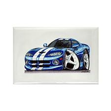 Cute Viper car Rectangle Magnet