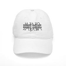 Osage Nation w/ Osage Writing Baseball Cap