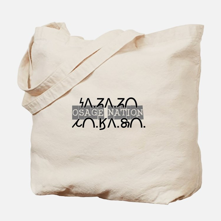 Osage Nation w/ Osage Writing Tote Bag