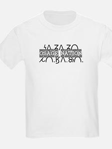 Osage Nation w/ Osage Writing T-Shirt