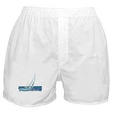 SAILBOAT Boxer Shorts