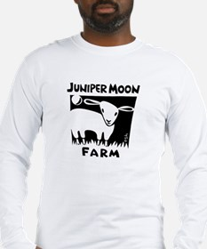 B&W Juniper Moon Farm Long Sleeve T-Shirt