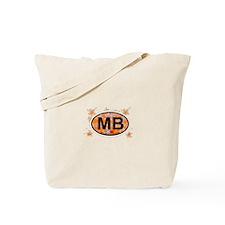 Myrtle Beach SC - Oval Design Tote Bag