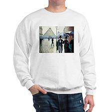 Paris Street, Rainy Day Sweatshirt