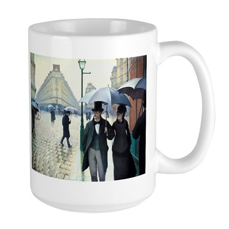 Paris Street, Rainy Day Large Mug