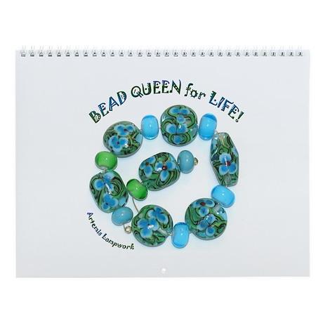 Bead Queen Wall Calendar