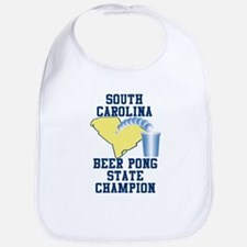 South Carolina Beer Pong Stat Bib