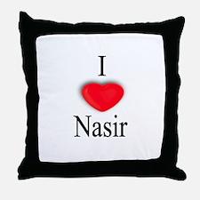 Nasir Throw Pillow