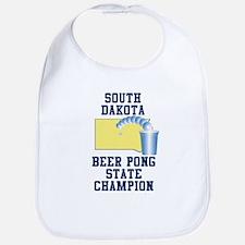 South Dakota Beer Pong State Bib