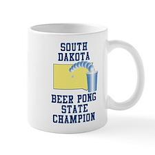 South Dakota Beer Pong State Small Mug