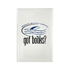 Herrick District Library Tall Rectangle Magnet