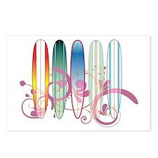Board Swirl Postcards (Package of 8)