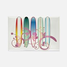Board Swirl Rectangle Magnet