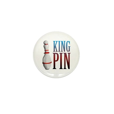 King Pin Mini Button (100 pack)