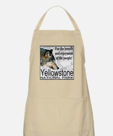 For the benefit and enjoyment Apron