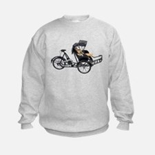 Energy efficient rickshaw Sweatshirt