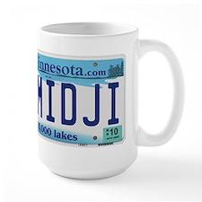 Bemidji License Plate Mug