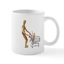 Family out shopping Mug