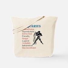 Aquarius Horoscope Tote Bag
