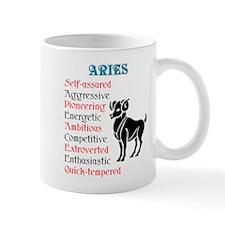 Aries Horoscope Mug