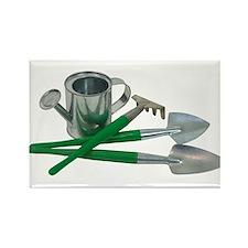Gardening essentials Rectangle Magnet (10 pack)