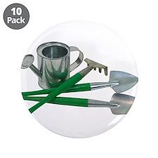 """Gardening essentials 3.5"""" Button (10 pack)"""