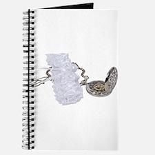 Garter belt and pocket watch Journal