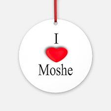 Moshe Ornament (Round)