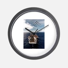 USS John Stennis Ship's Image Wall Clock